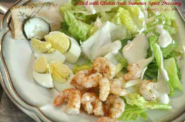 Summer Spice Salad Dressing