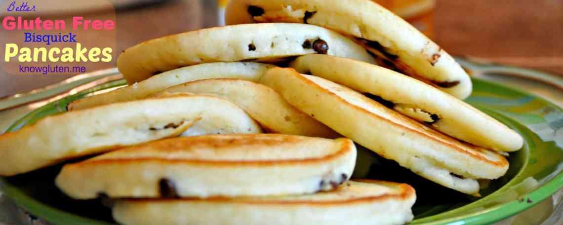 Better Gluten Free Bisquick Pancakes from knowgluten.me