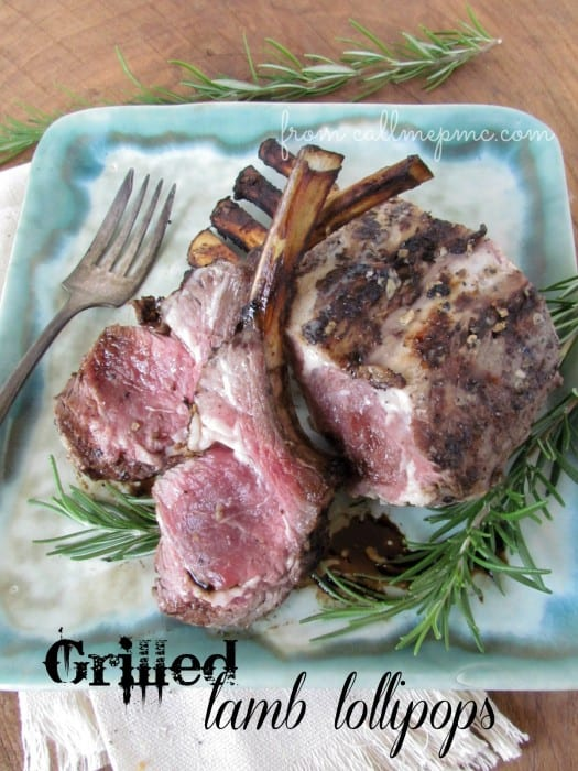 Grilled Lamb Lollipops from Call Me PMc {click the picture to go to the recipe}