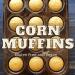 gluten free, vegan corn muffins in a muffin tin