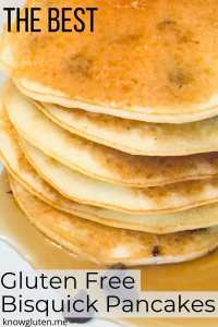 A stack of chocolate chip pancakes.