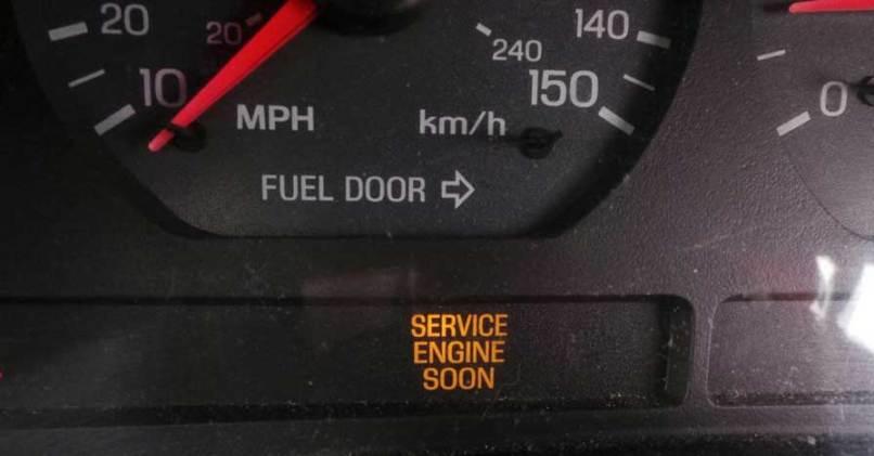 Suzuki Service Engine Soon Light