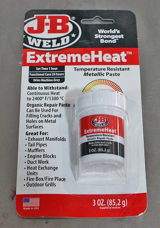 how to use jb weld extremeheat napa