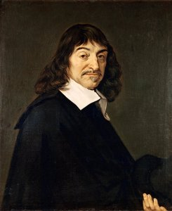 """French philosopher and mathematician René Descartes was among the first to think deeply about how we know things. His famous quote, """"I think, therefore I am,"""" summarizes the view that one can doubt the existence of anything except one's own existence."""