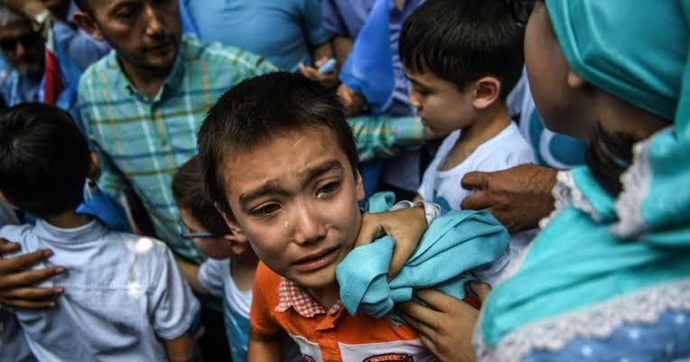 Except Allah helps Uyghur Muslims