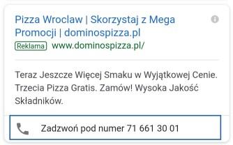 Promocja firmy lokalnej w internecie Google reklama lokalna