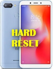 Strong Hard Reset Xiaomi Redmi 6 Factory reset recovery mode