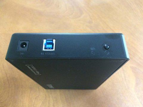 ORICO 3.5インチ HDD ケース I/Oです