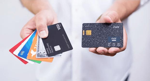Fuze Card(ヒューズカード) これ1枚で30枚のカードを使い分け 次世代のSmart Card(スマートカード)