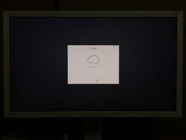macOS Mojave(モハベ)インストール iCloudの設定です