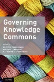 Governing Knowledge Commons - cover