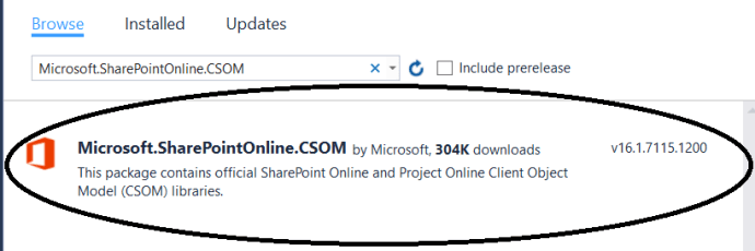 CSOM_NewVersion