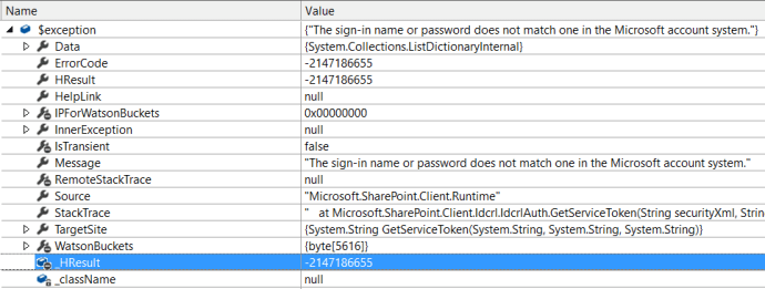 CSOM exception while connecting with account where MFA enabled
