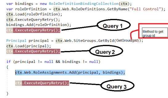 3 Separate Query