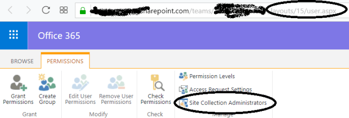 fig-0.1-Site-collection-Administrator-option-for-Modern-Team-sites