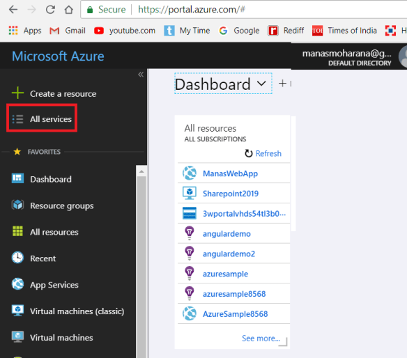 Azure – Certification 70-532-Part 5 – Working with Azure CLI