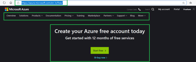 Starting with Azure