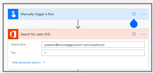"""Power Automate - adding """"Manually trigger a flow"""" action"""