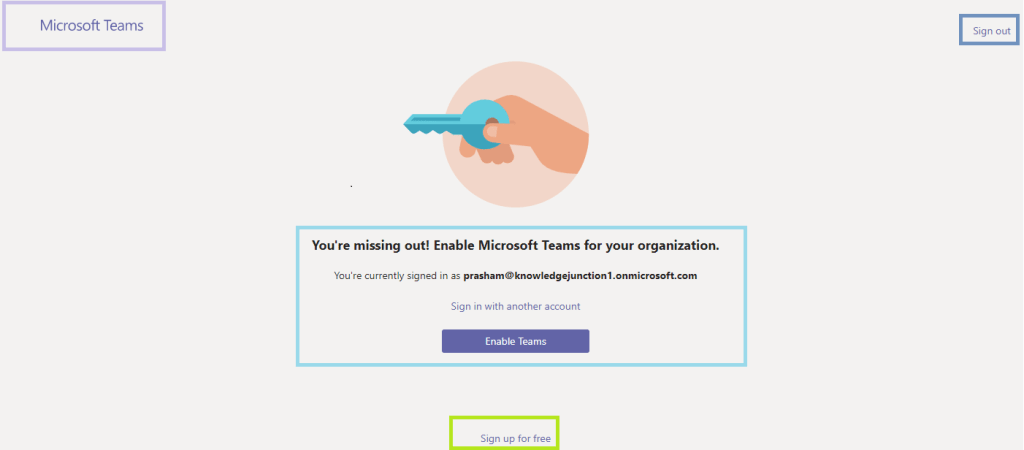 M365 - Microsoft Teams - USers get an error when Teams are disabled