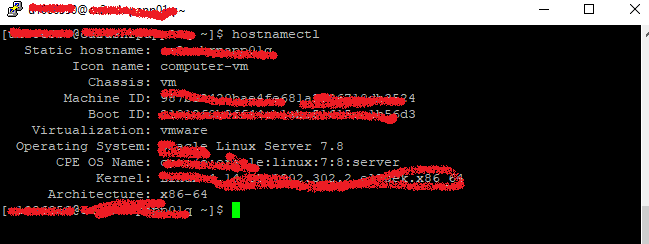 Linux : Knowing OS details using hostnamectl command