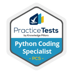 Python Coding Specialist Practice Test Badge