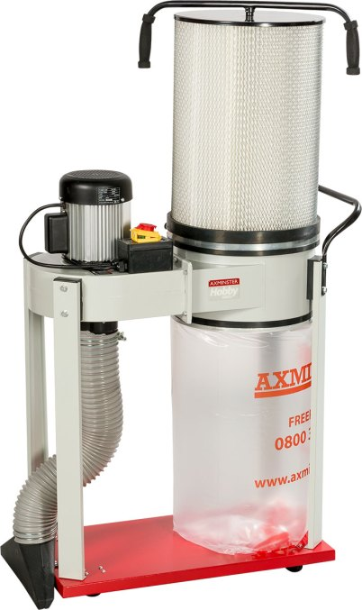 Axminster Hobby Series AWEDE2 Extractor with Filter Cartridge