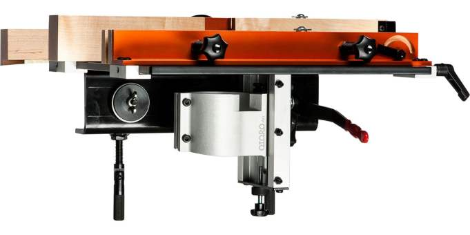 Router table side view