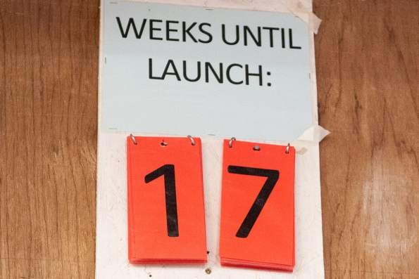 Launch day countdown!
