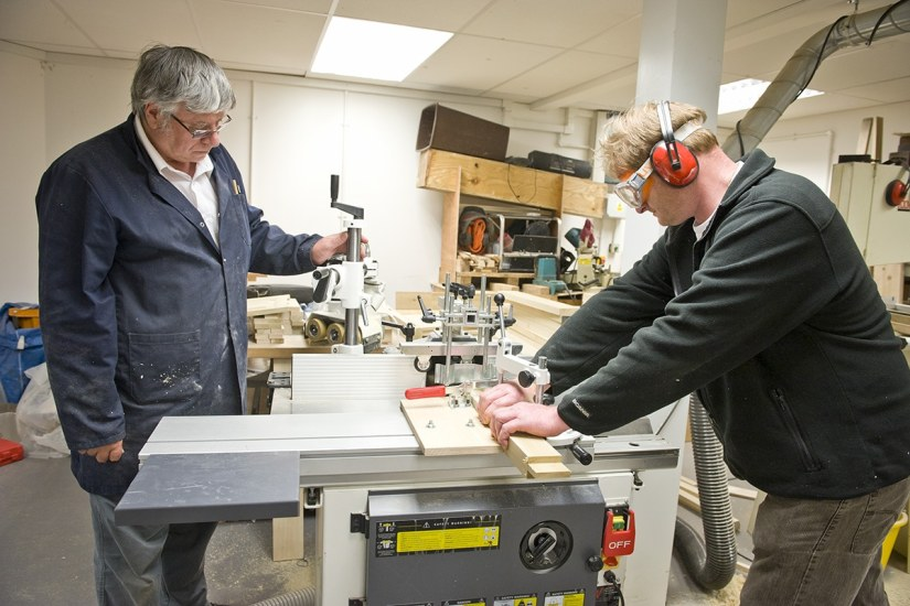 Axminster Skill Centre wood machining course
