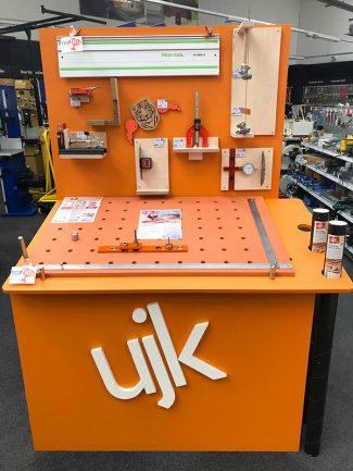 The team have finished building ourUJK station - come and get hands-onwith these great products and see what they can do