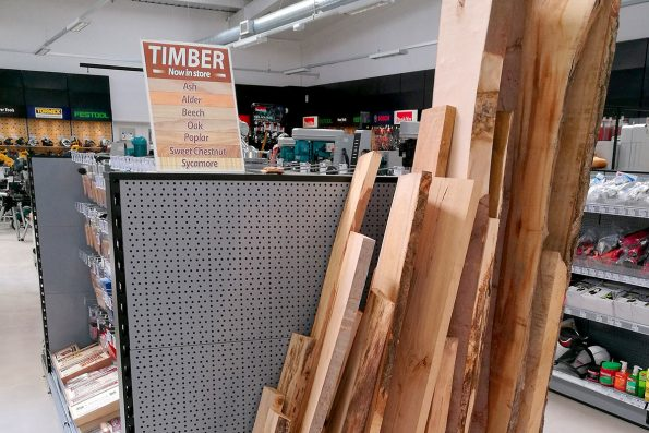 Timber planks now available in-store