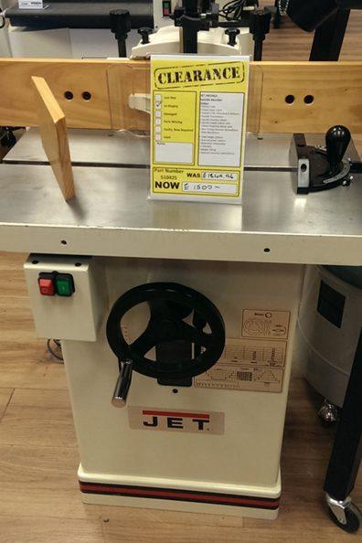 Ex-display Jet Spindle Moulder – £1500 ONO!