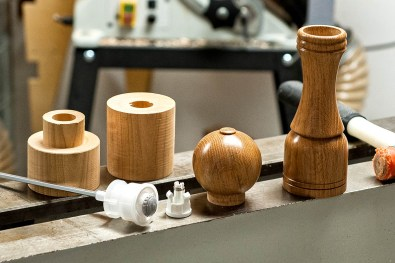 Pepper mill components