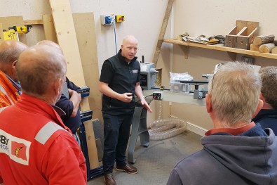Woodturning lathe training