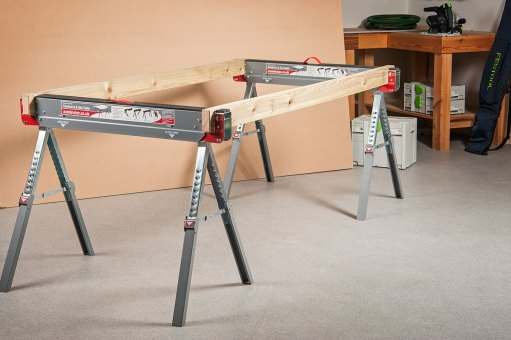 Quickly create a table using 42 x 95mm timber