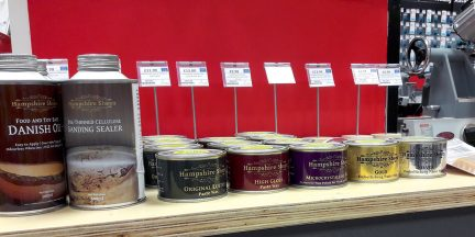 Hampshire Sheen range now in-store