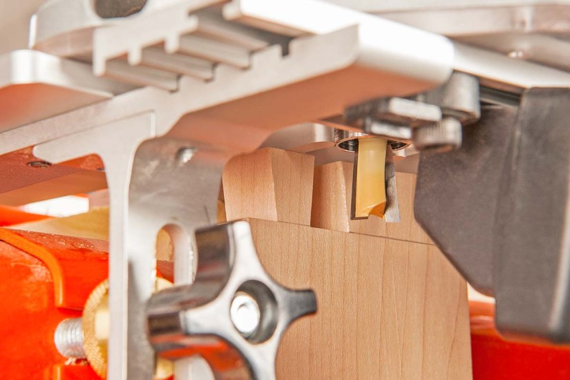 Cutting dovetail