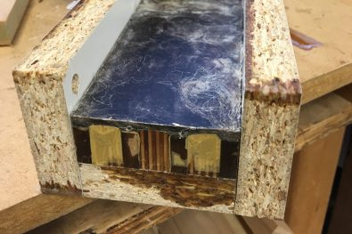 EcoPoxy in mould