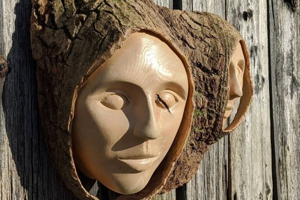 Jane Carpenter - Carved faces