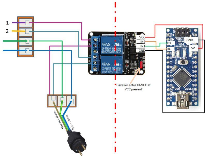 Relais 5V 220 V Pas Cher Pour Arduino