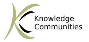 Knowledge Communities