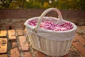 basket brick wall bricks checkered