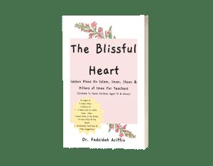 mockup paperbook blissful heart