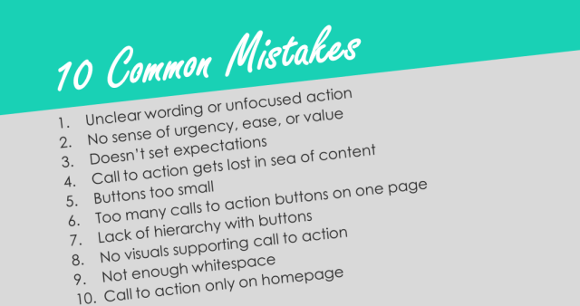 10 Common Mistakes