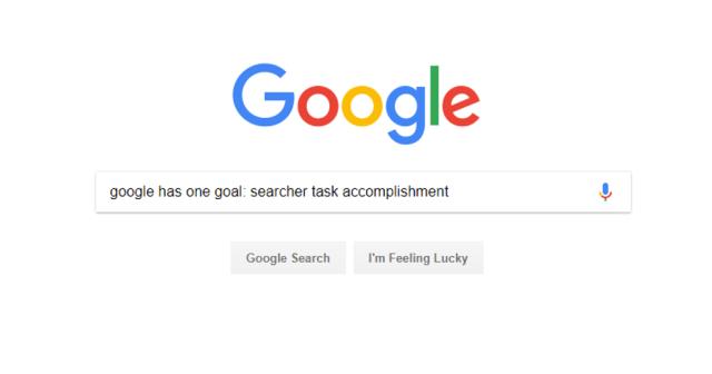 Google 1 Goal