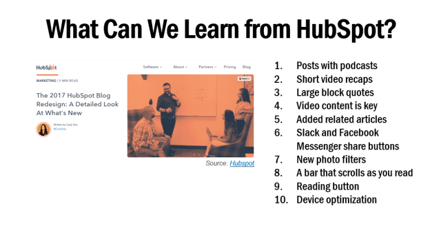HubSpot New Blog