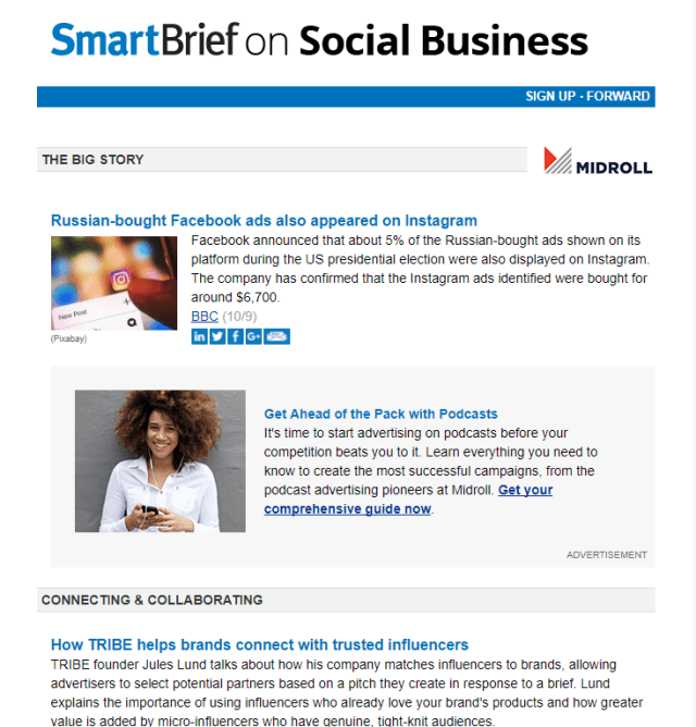 SmartBrief on Social Business