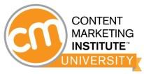 Content Marketing Insititute CMI University Certification Program