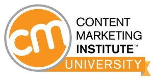 Content Marketing Insititute CMI University Certification Program