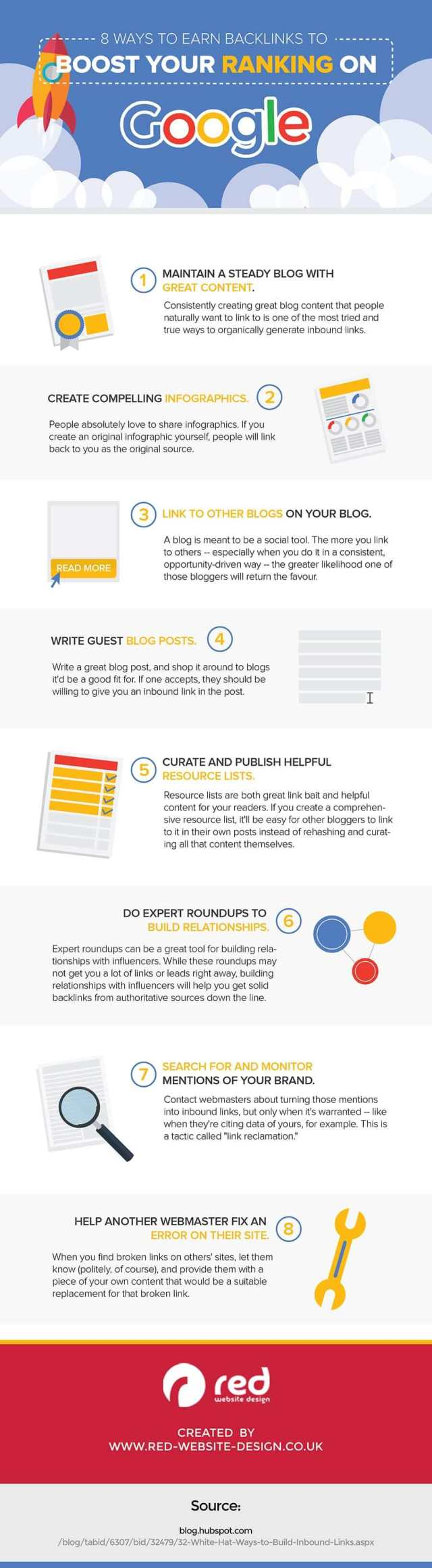ways boost rankings on google infographic compressed